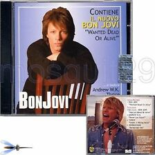 BON JOVI RARE CD MAXI + VIDEO 2003 - ITALY ONLY