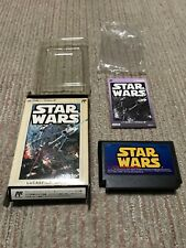 Rare Game soft FamiCom『STAR WARS』Box and with an instructions from Japan ☆