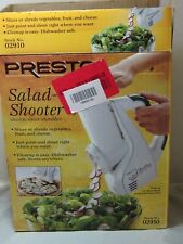 2006 Salad Shooter in Box Never Used by Presto No 02910 All Parts Manual NEW
