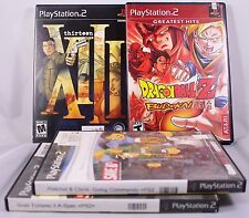 Sony Playstation 2 Games PS2 Dragonball Z, XIII, Ratchet & Clank Gran Turismo 3