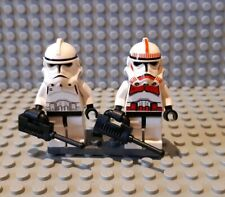 Lego Star Wars minifigures - Shocktrooper and Episode 3 Clone
