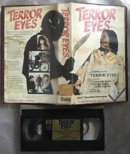 Terror Eyes Pre Cert Guild VHS Video Nasty DPP