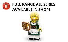 Lego minifigures pretzel girl/drindl girl series 11 unopened new factory sealed