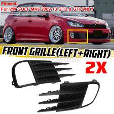 For Volkswagen Golf GTI GTD MK6 VI 2009-2013 Fog Lamps Bezel Insert Grill Cover