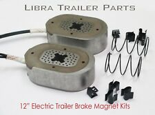 """(4) 12"""" electric trailer brake magnet replacement kits - 21025"""