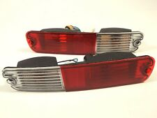 Mitsubishi Pajero Montero Shogun 2003+  Rear Bumper Fog Lights Lamp Set LH+RH