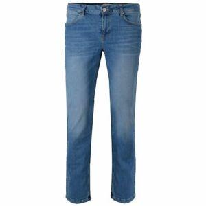 GIN TONIC Jeans Damen Jeanshose Straight Blue Washed