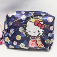 Hello Kitty Cute Kawaii Compact Eco Bag Oiran Courtesan Kyoto Japan