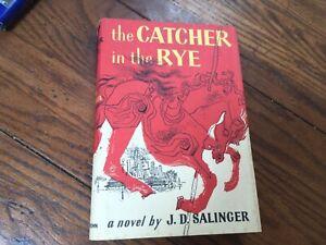 THE CATCHER IN THE RYE J.D. SALINGER 1951 HCDJ 1ST ED