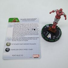 Heroclix Invincible Iron Man set Silver Centurion #001b Prime figure w/card!