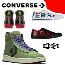 """UNISEX CONVERSE ALL STAR PRO LEATHER """"BHM"""" OXFORD CANVAS OX SNEAKERS LOW HI"""
