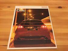 Honda Civic TYPE R + GT, UK Car Sales Brochure, 2006 Owners + Collectors Item
