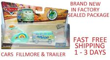 Disney pixar cars diecast Fillmore & Trailer BRAND NEW FACTORY SEALED