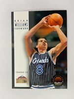 Brian Williams Denver Nuggets 1993 Skybox Basketball Card 137
