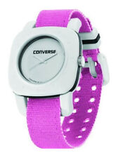 Converse 1908 Shimmer Gray Women's Watch vr021-695 Analogue Textile Pink