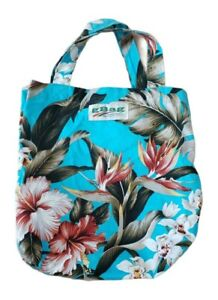 Hawaii Reusable tropical floral Shopping Bag Beach Tote gBag brand unused