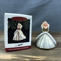 Hallmark 1994 Holiday Barbie 2nd In The Holiday Barbies Series Vintage With Box