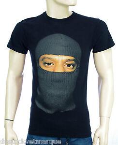 ELEVEN PARIS JAY Z Tee shirt Cagoule homme noir Cager 15S1LT119