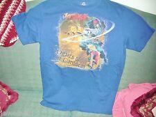 Disney Store T-Shirt Jack Sparrow Pirates Of The Caribbean MEDIUM T-Shirt VGC