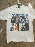 Vintage Sonic Youth 1996 gildan tshirt gildan shirt