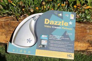 GRABADORA-CAPTURADORA de video Pinnacle Dazzle PLATINUM , Video creator,,,