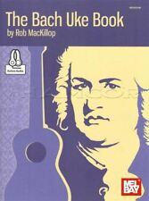 The Bach Uke TAB Music Book/Audio Classical Ukulele Duets Guitar Rob MacKillop