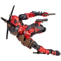 Kaiyodo Revoltech Amazing Yamaguchi Deadpool Action Figure X-men Toy 2020 New