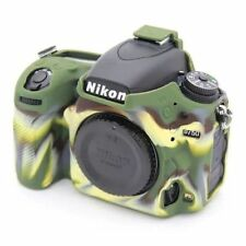 Camouflage Rubber Silicon Case Cover Protector For Nikon D750 DSLR Camera Soft