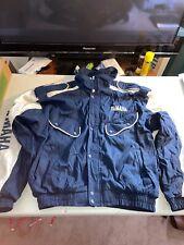 Vintage 90's?? Mens XXL Yamaha Snowmobile?? Navy Blue White Zip Up Winter Jacket
