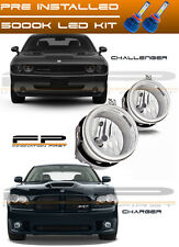 LED 2006-2009 Dodge Charger 2008-2010 Challenger Replacement Fog Lights Housing