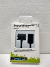 Samsung 30Pin Connector to On-The-Go Cable Maplin BLACK