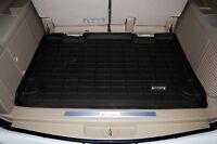 Cargo Floor Mat By Wade Black 2007 - 2010 Jeep Wrangler Unlimited