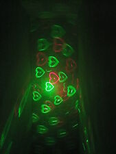 Green Red Blue LED Laser Stage Light Projector DJ Sound