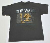 Vintage Men's VIETNAM WAR Memorial Black T-Shirt Short Sleeve Size Large L