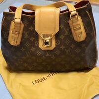 Louis Vuitton Monogram Boston Bag Brown Auth MM4081