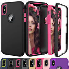 Case For iPhone X Xr XS Max 6 7 8 Plus Shockproof 360 Full Body Cover Protective