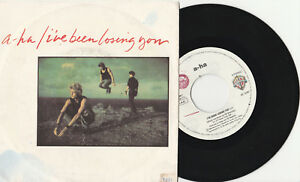 A-HA  - I've been losing you / This alone is love - 45 giri - WARNER BROS. 1986
