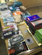 Wholesale Lot Of 91 Cell Phone Cases, Screen Protectors And Cases. NEW