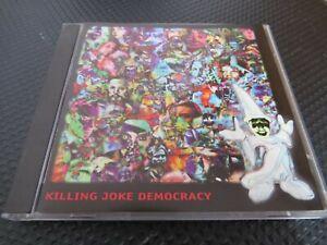 KILLING JOKE - DEMOCRACY.  1996  10 TRACK CD ALBUM