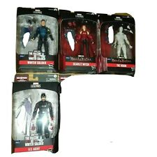 Marvel Legends FALCON AND THE WINTER SOLDIER/Scarlet Witch4FIGS NO BAF BRAND NEW