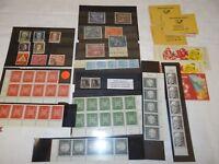Konvolut Briefmarken Briefmarkenheftchen DDR Bund Deutsche Post (114)