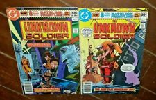 The Unknown Soldier #243 & #244, (1980, DC): Free Shipping!