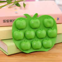 DIY Apple Cake Mold Soap Flexible Silicone Mould For Candy Chocolate Cake O