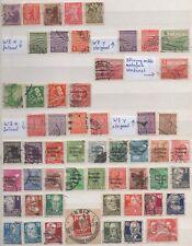 Alliierte Besetzung,SBZ,55 verschiedene Briefmarken gestempelt,Michel 147,00(33)
