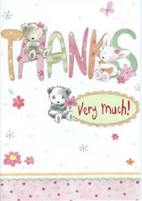 Various Male / Female Thank You Cards