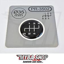 1x Schalthebel Silikon Aufkleber für Schaltknauf 3D Sticker | ∅=35mm | PR-3502