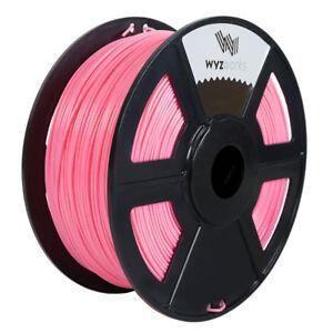 WYZworks 3D Printer Premium PETG Filament 1.75mm 1kg/2.2lb - PINK
