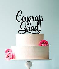 Graduation Party Cake Topper, Congrats Grads, Graduation Decorations, US Seller