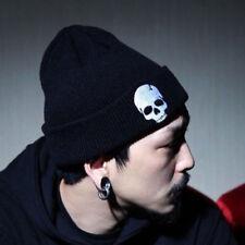 Men Women Skull Knit Cap Punk Beanie Hat Hip Hop Winter Ski Slouchy KnitteUnisex