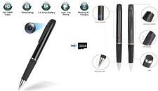 Spy Pen Hidden BODY Camera 2.5 H Recording 1080P HD 32GB SD DVR 1 BUTTON CONTROL